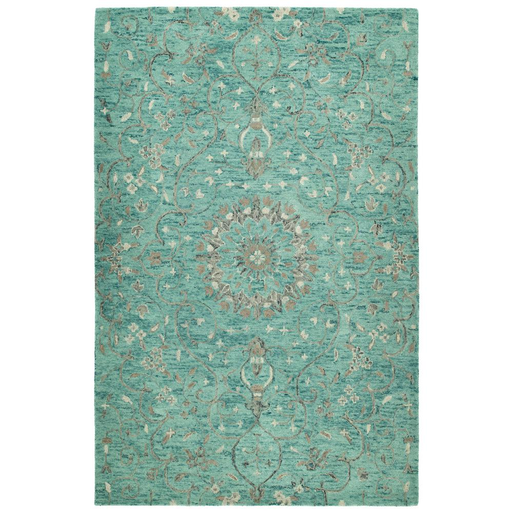 Chancellor Turquoise 5 ft. x 7 ft. 9 in. Area Rug
