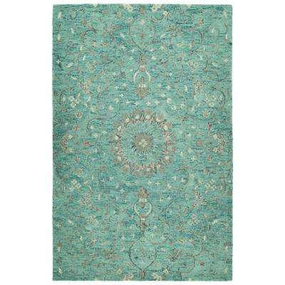 Chancellor Turquoise 8 ft. x 10 ft. Area Rug