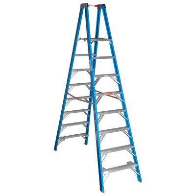 8 ft. Fiberglass Platform Step Ladder with 250 lb. Load Capacity Type I Duty Rating