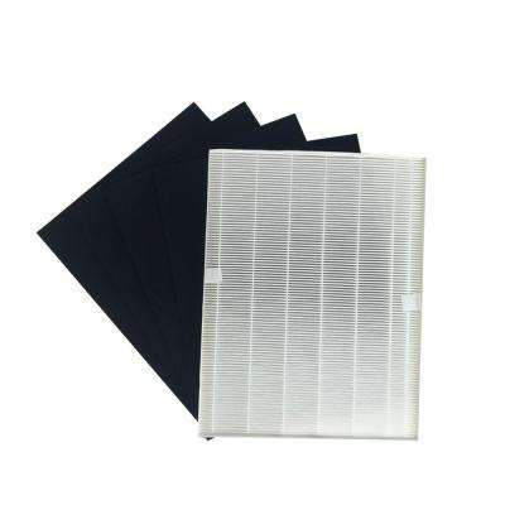 17.9 x 14.2 x 2.1 Repl Winix 115115 Air Purifier Filter & 4 Carbon Filters Fit 5000b 5300 5500 WAC5300 WAC5500 WAC6300