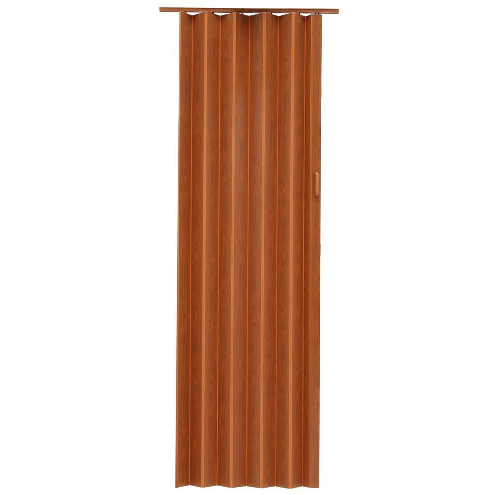 Spectrum express one 48 in x 96 in vinyl fruitwood for Accordion doors