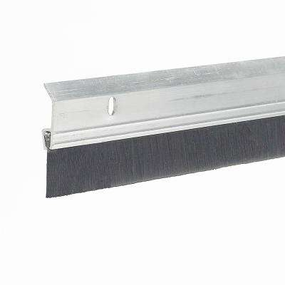 E/O 2 in. x 36 in. Heavy-Duty Aluminum and Brush Door Sweep