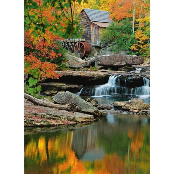 100 in  x 72 in  Grist Mill Wall Mural