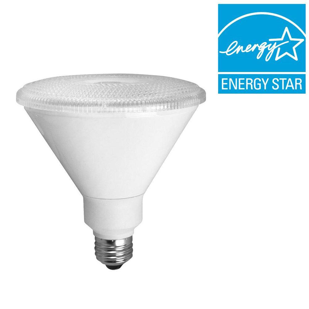 90W Equivalent Bright White (3000K) PAR38 LED Flood Light Bulb (6-Pack)