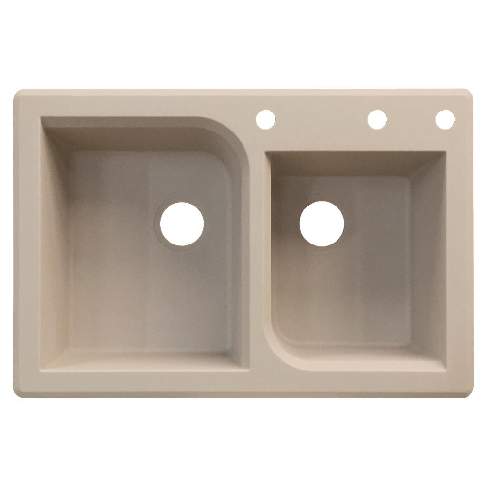 images of kitchen sinks transolid radius drop in granite 33 in 3 1 3 4 4643