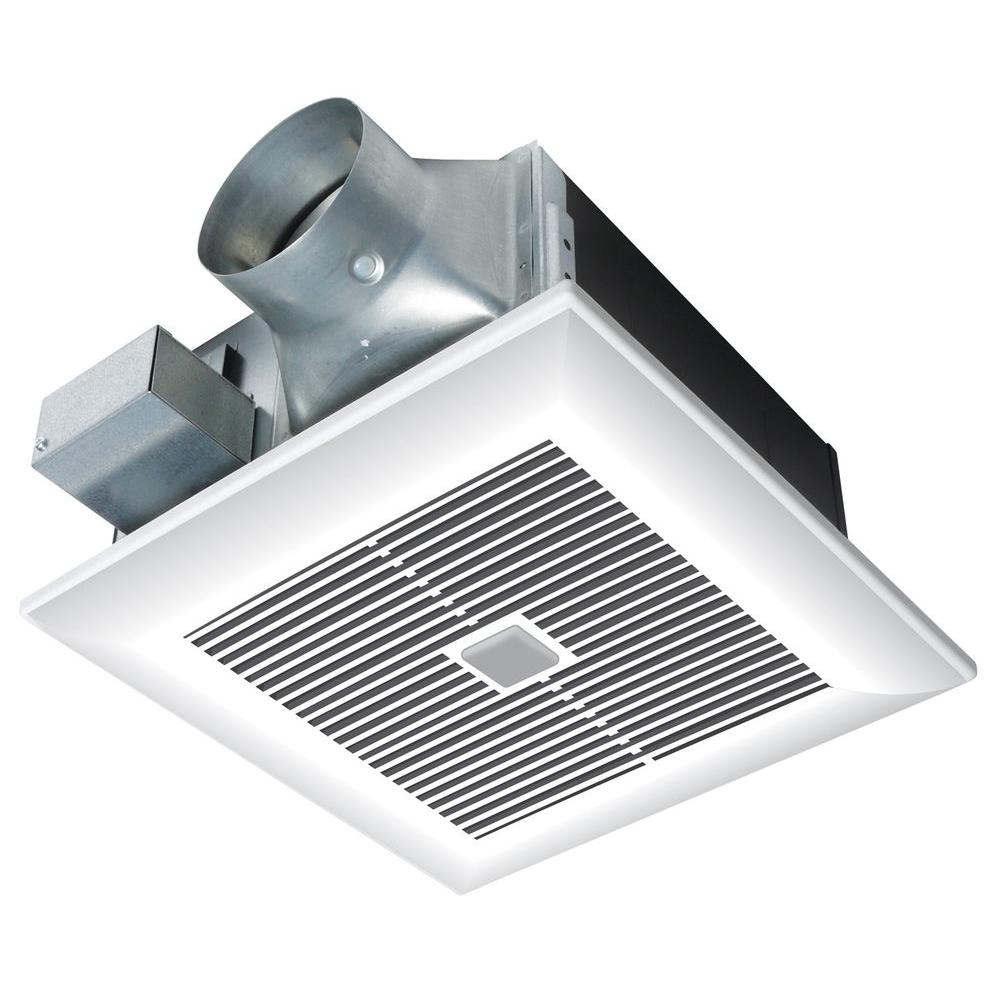 Panasonic WhisperWelcome 80 CFM Ceiling Motion Sensing Exhaust Bath Fan ENERGY STAR*