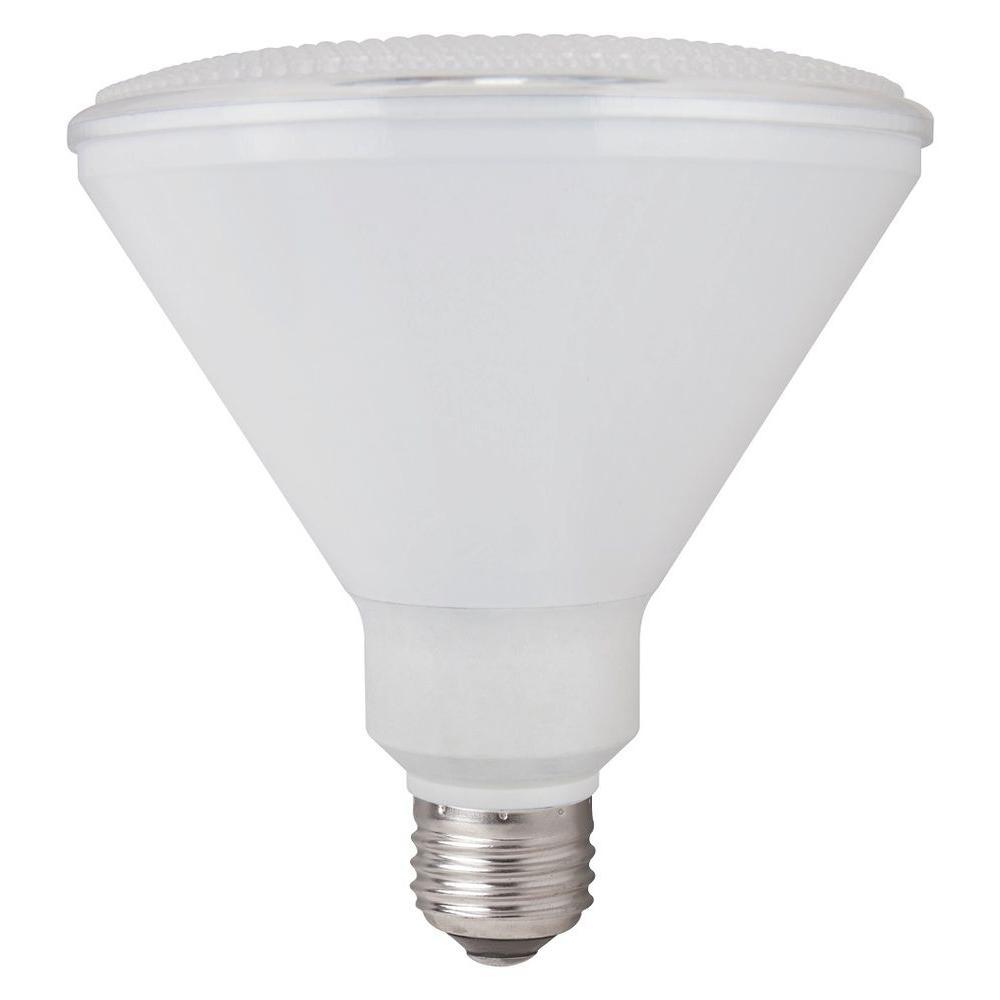 90W Equivalent Warm White 3,000K PAR38 Wet Location Non Dimmable LED Spot Light Bulb