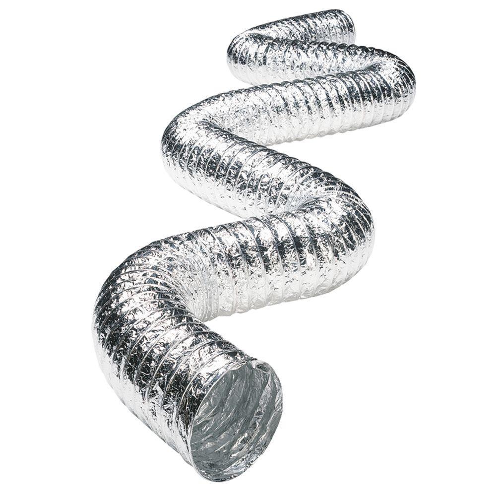 3 in. x 25 ft. Flexible Aluminum Foil Duct