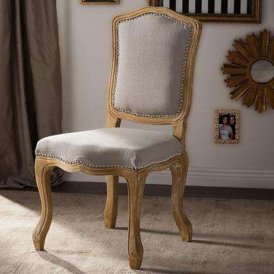 Chateauneuf Beige Fabric Upholstered Dining Chair