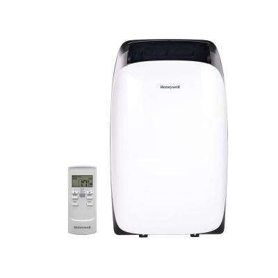 HL Series 12,000 BTU, 115-Volt Portable Air Conditioner with Dehumidifier and Remote Control in White and Black
