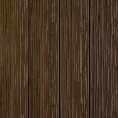 UltraShield 12 in. x 12 in. x 1 ft. Quick Deck Outdoor Spanish Walnut Composite Decking Tile Sample
