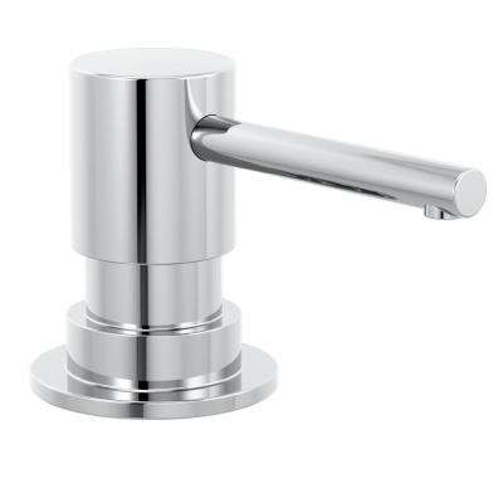 Trinsic Deck Mount Metal Soap Dispenser in Chrome