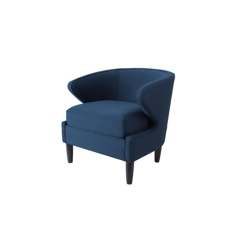 Sophia Midnight Blue Accent Chair