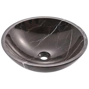 MR Direct Stone Vessel Sink in Black Marble by MR Direct