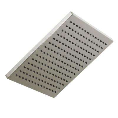1-Spray 11-3/4 in. Square Showerhead in Stainless