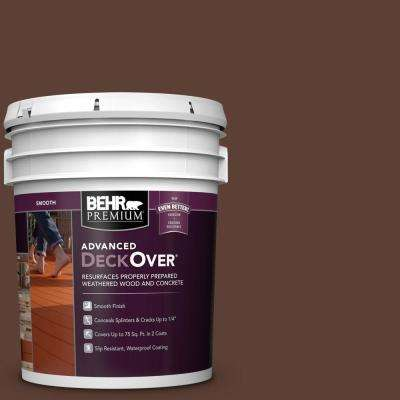 5 gal. #SC-129 Chocolate Smooth Solid Color Exterior Wood and Concrete Coating