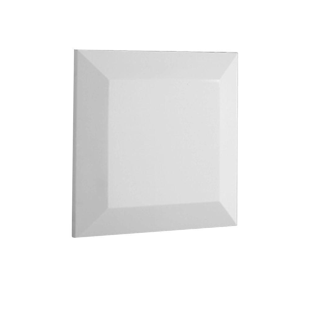 2 in. x 9-1/2 in. x 9-1/2 in. Polyurethane Flat Post