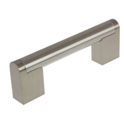 3-3/4 in. CC Stainless Steel Finish Round Cross Bar Cabinet Pulls (10-Pack)