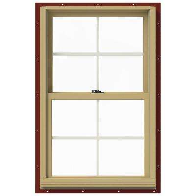 25.375 in. x 40 in. W-2500 Double-Hung Aluminum Clad Wood Window