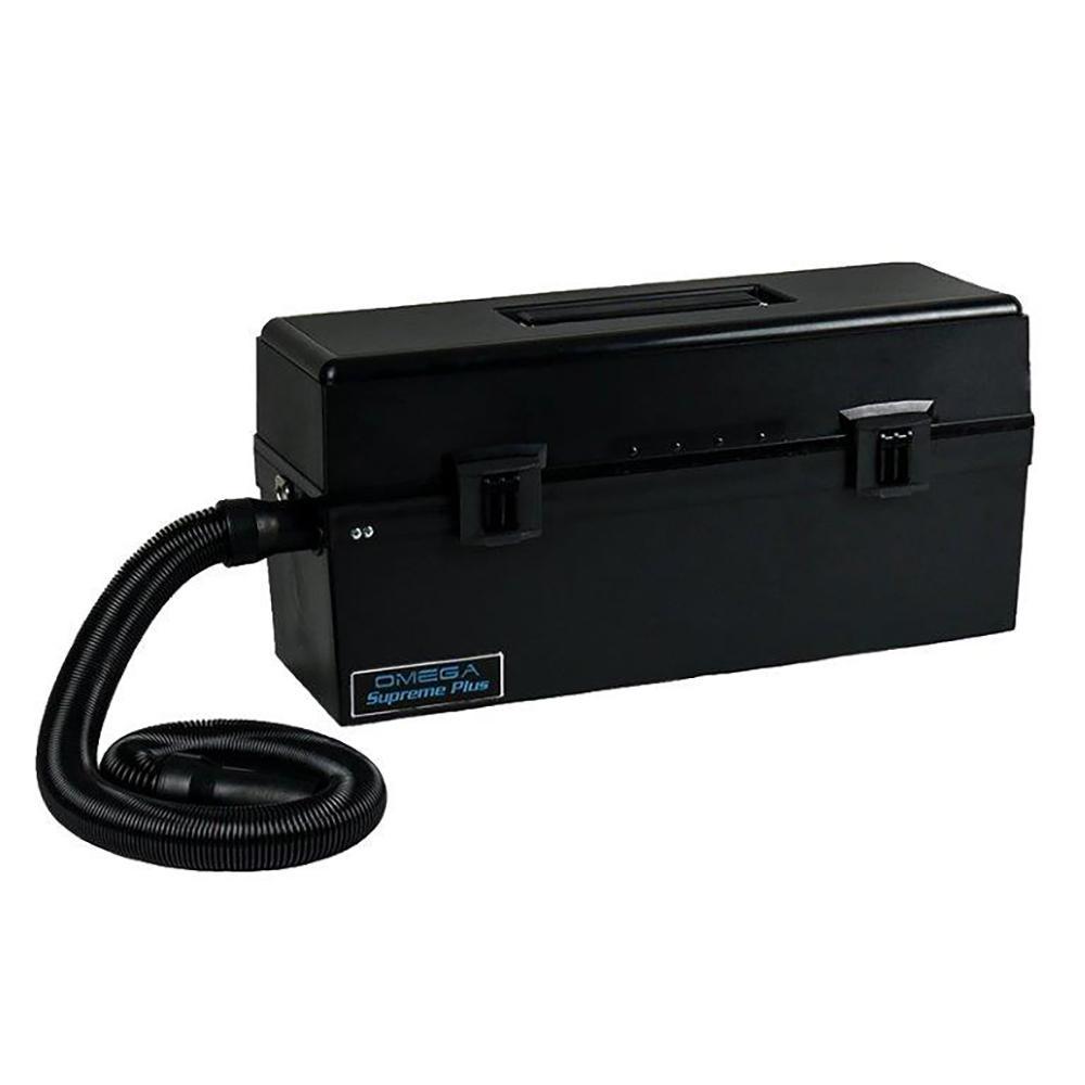 Atrix International Omega Super HEPA Canister Vacuum Cleaner in Black