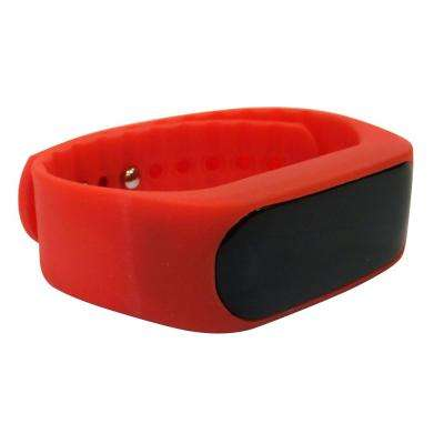 Activity Tracker Watch in Red