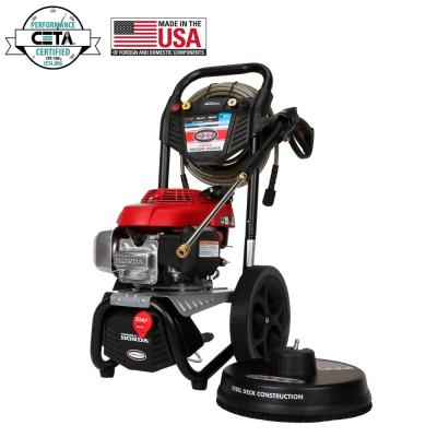 SIMPSON MegaShot MS60805-S 3000 PSI at 2.4 GPM HONDA GCV160 Cold Water Pressure Washer with Surface Scrubber