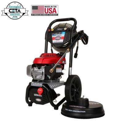 MegaShot 3000 psi at 2.4 GPM HONDA GCV160 Premium Gas Pressure Washer
