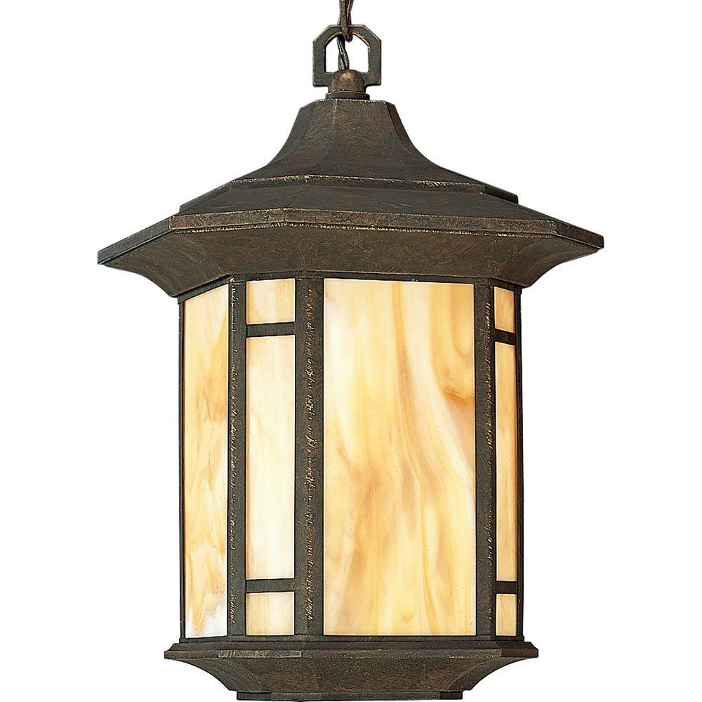 Progress lighting arts and crafts collection weathered bronze progress lighting arts and crafts collection weathered bronze outdoor hanging lantern mozeypictures Image collections