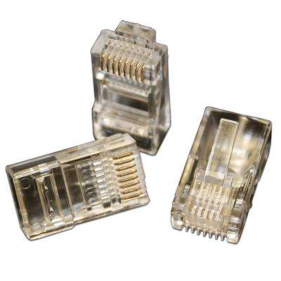 QuikThru RJ45 CAT5/5e Connectors (100-Pack)