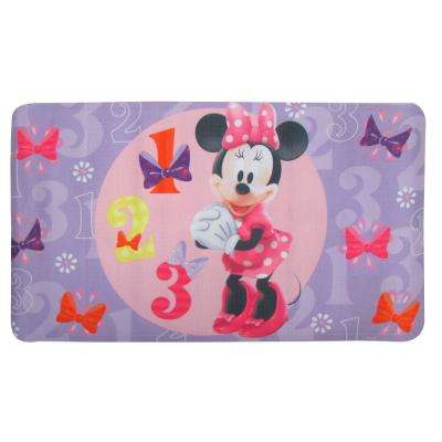 1 Minnie Mouse TPR Bath Mat Bowtique in Purple
