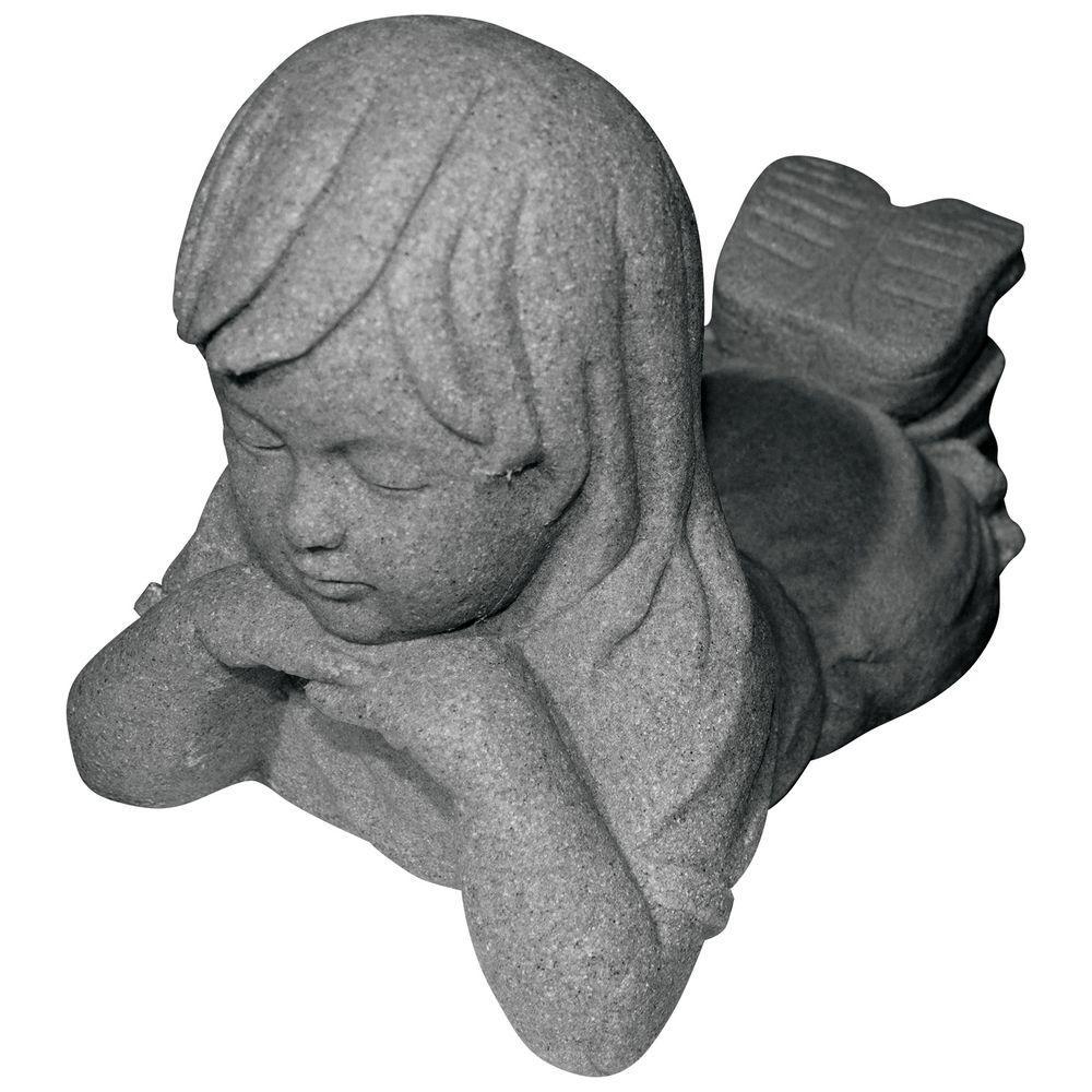 Girl Day Dreamer in Granite Finish
