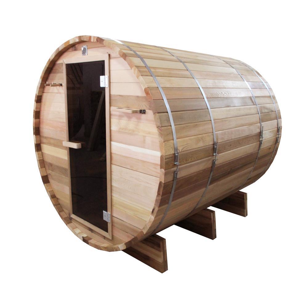 6-Person Western Red Cedar Electric Heater Sauna