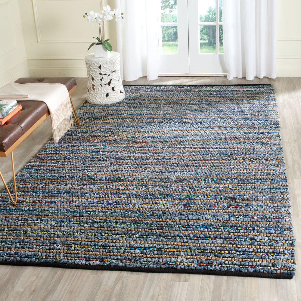 Cape Cod Multi/Natural 6 ft. x 9 ft. Area Rug