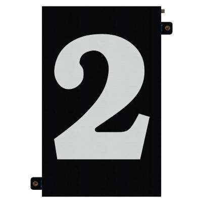 5 in. Modular LED Illuminated House Number 2