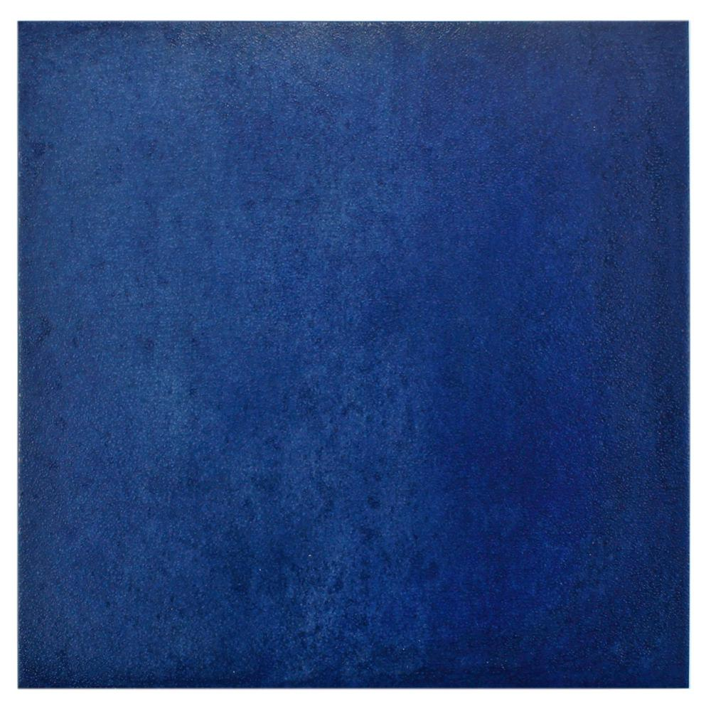 Merola Tile Simbols Blau 14-1/8 in. x 14-1/8 in. Porcelain Floor and Wall Tile (11.48 sq. ft. / case)