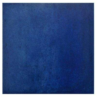 Simbols Blau 14-1/8 in. x 14-1/8 in. Porcelain Floor and Wall Tile (11.3 sq. ft. / case)