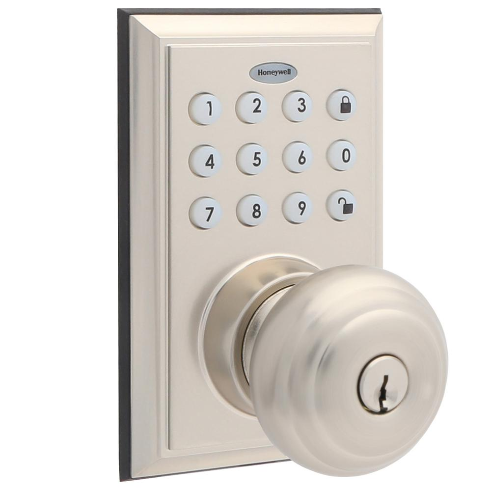 First Watch Security Satin Nickel Flip Door Lock 1840 Sn