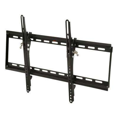 Low-Profile Tilting TV Wall Mount for 32 in. - 70 in. Flat/Curved Panel TVs with 15-Degree Tilt and 99 lb. Load Capacity