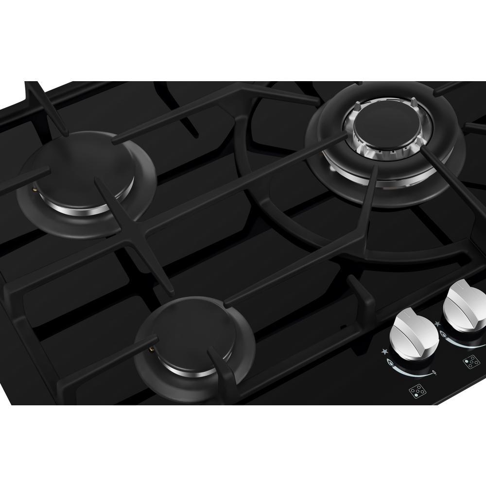 Empava 36 5 Italy Sabaf Burners Gas Stove Top Cooktop Black Tempered Glass EMPV-36GC5L90I