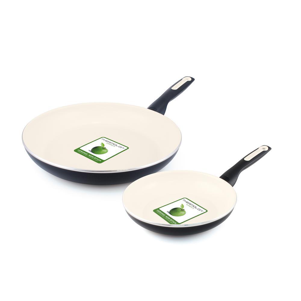 Greenpan Rio 8 In And 10 In Ceramic Nonstick 2 Piece