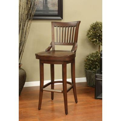 Liberty 30 in. Suede Bar Stool