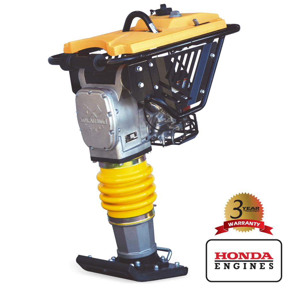 Tomahawk Power 4-Cycle Jumping Jack Tamping Rammer with Honda Engine