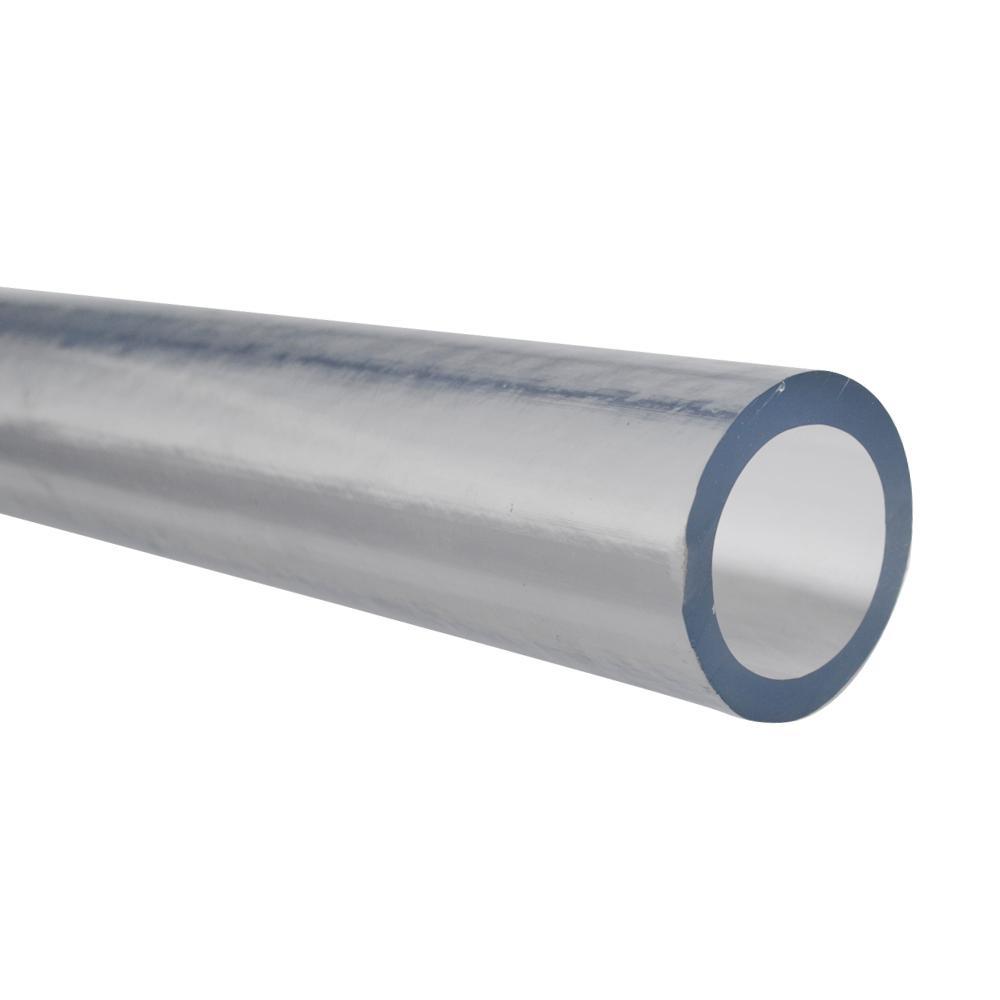 1-7/8 in. O.D. x 1-1/2 in. I.D. x 24 in. Clear PVC Vinyl Tube