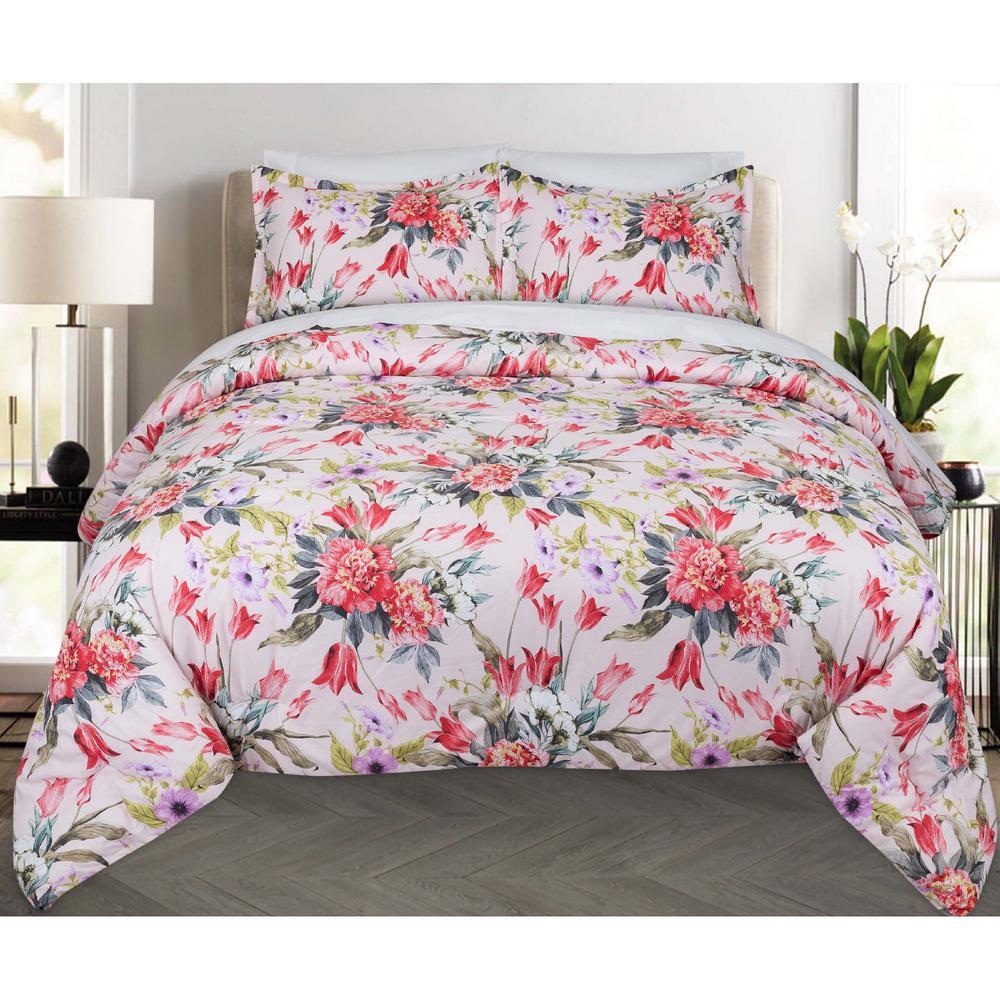 Bouquet Floral Twin XL Comforter Set