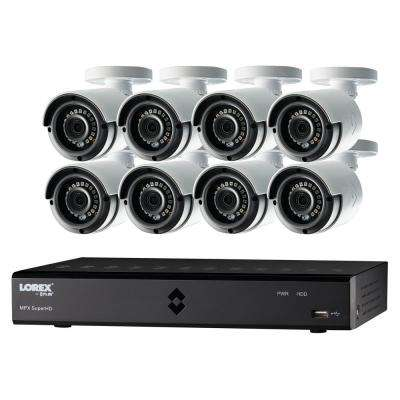 16-Channel 1080p High Definition 2TB HDD Surveillance DVR System with 81080p HD Indoor/Outdoor Wired Cameras and Remote