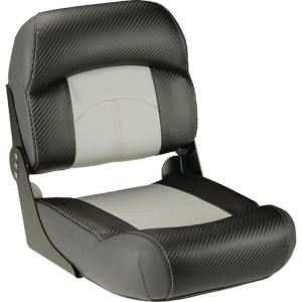 Lippert High Back Fold Down Fishing Seat, Tan-702521 - The
