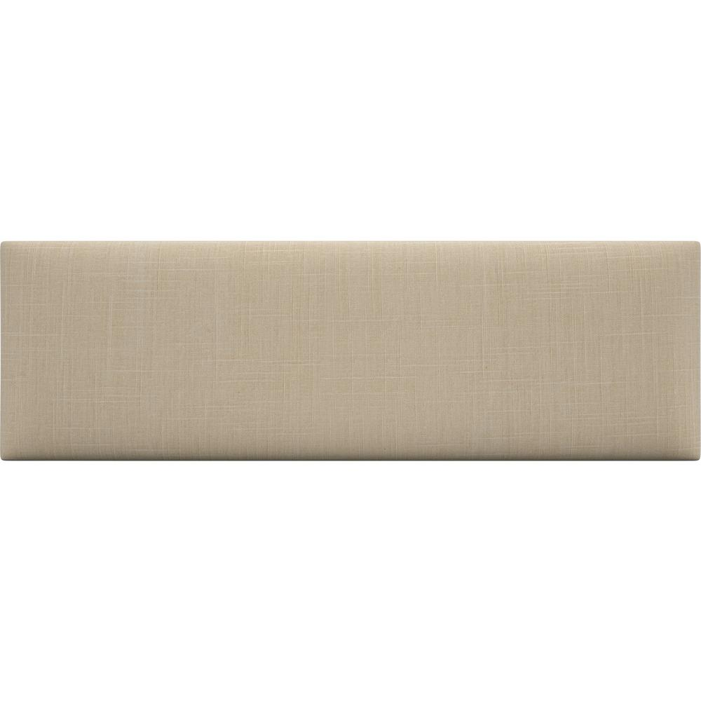 Cotton Weave Ash Grey Twin-King Upholstered Headboards/Accent Wall Panels