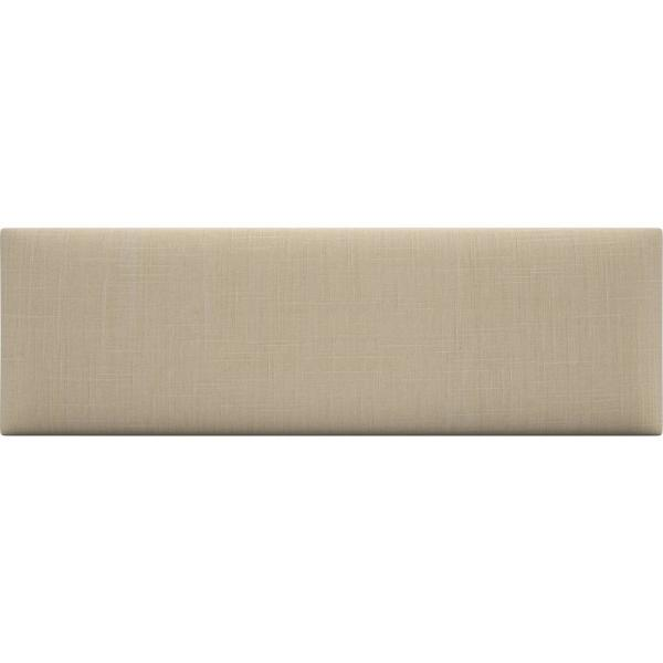 Vant Cotton Weave Toasted Wheat Twin King Upholstered Headboards Accent Wall Panels