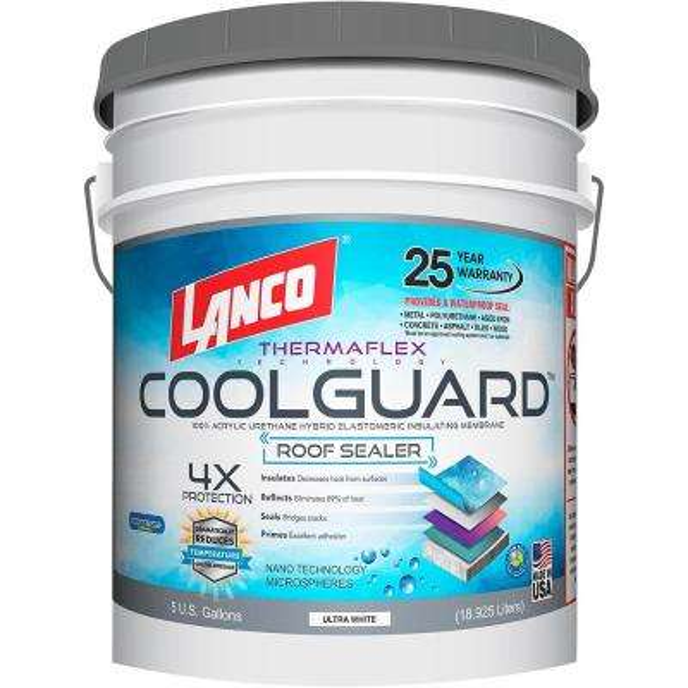 5 Gal. Coolguard Roof Coating