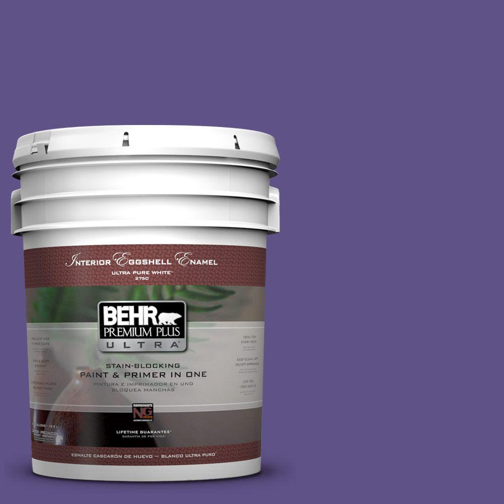 BEHR Premium Plus Ultra 5-gal. #P560-7 King's Court Eggshell Enamel Interior Paint